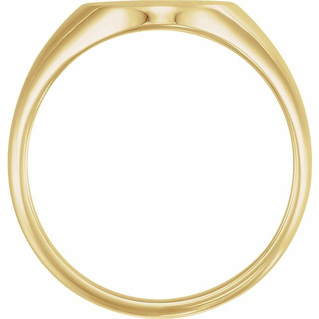 Rings - 18K Yellow Gold Ring - image #2