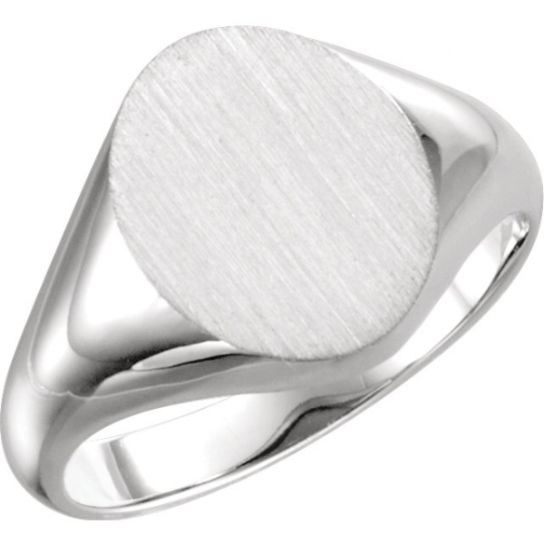 Rings - 10K White Gold Ring
