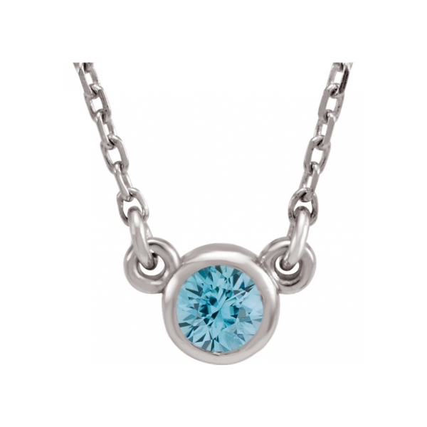 Gemstone Necklaces - Genuine Zircon Necklace