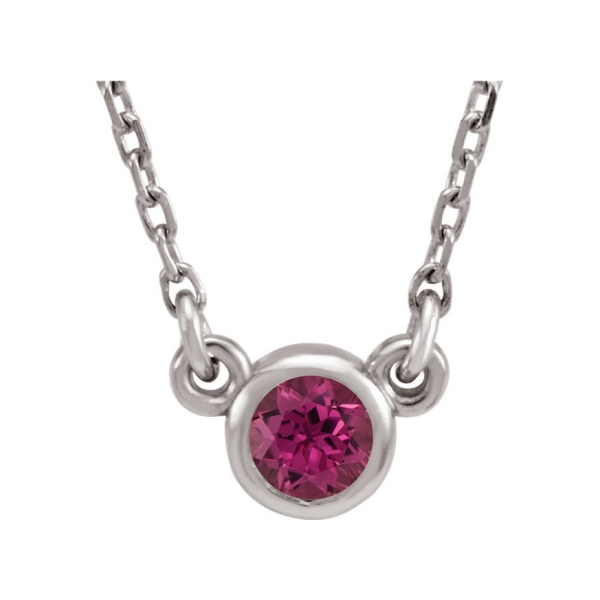 Gemstone Necklaces - Imitation Tourmaline Necklace