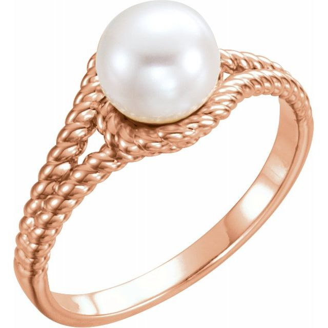 Gemstone Rings - Pearl Ring