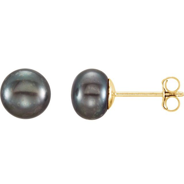 Earrings - Freshwater Cultured Pearl Stud Earrings