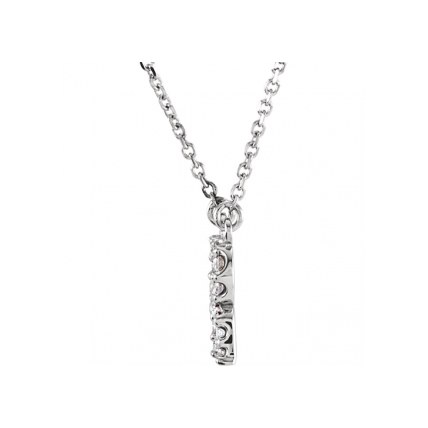 Diamond Necklaces - Genuine Diamond Necklace - image #2