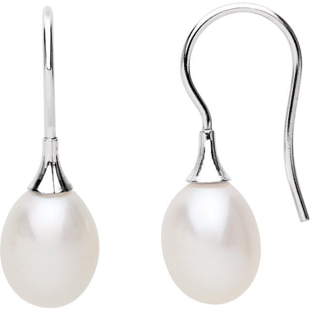 Earrings - Freshwater Cultured Pearl Earrings