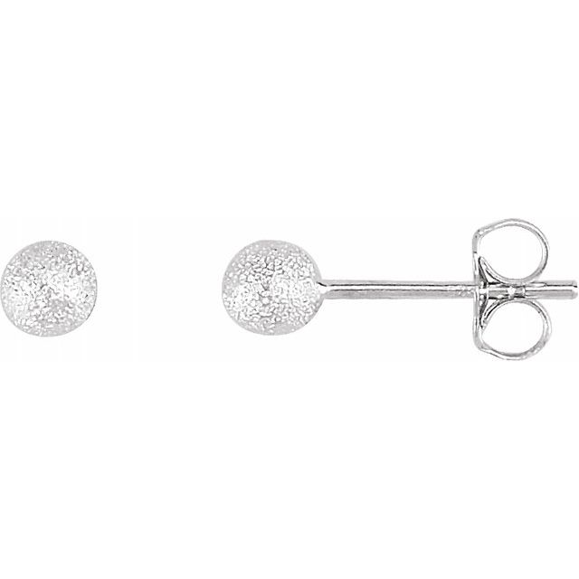 Sterling Silver Earrings by Stuller