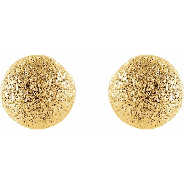 Earrings - Stardust Ball Earrings  - image #2
