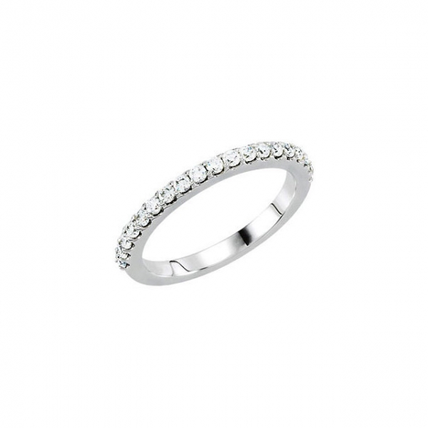 Accented Engagement Ring Matching Band by Shop Online