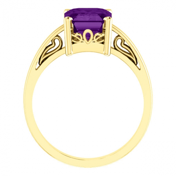 Anniversary Bands - Scroll Setting® Ring - image #2