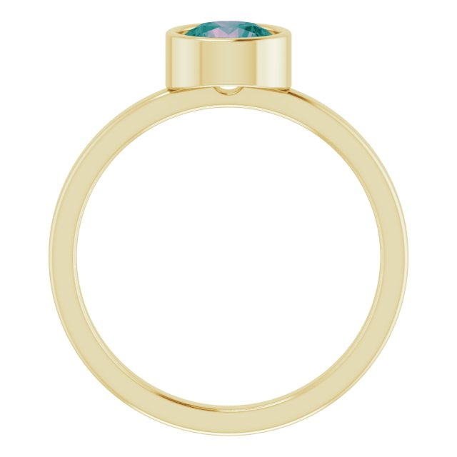 Rings - Bezel-Set Solitaire Ring - image 2