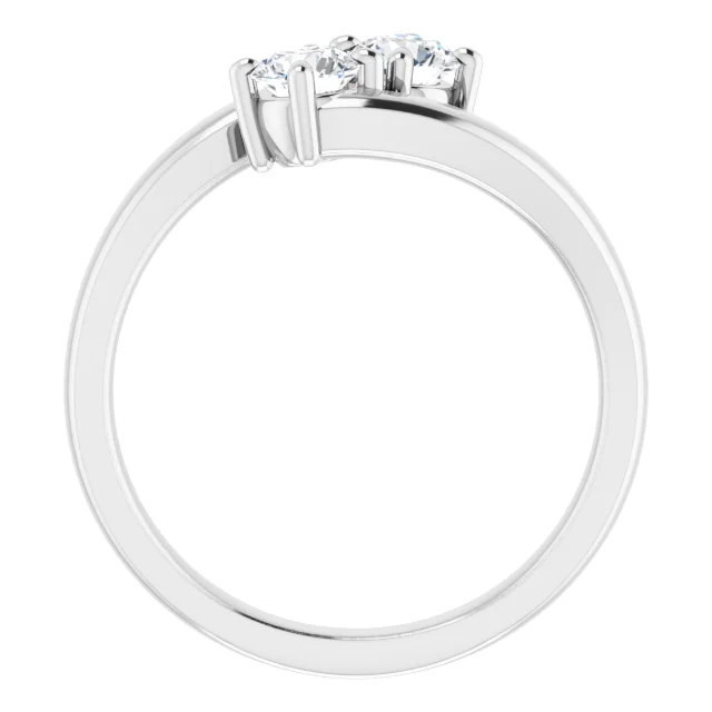 Diamond Fashion Rings - Diamond Ring - image #2