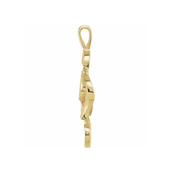 Pendants - 14K Yellow Gold Pendant - image #2