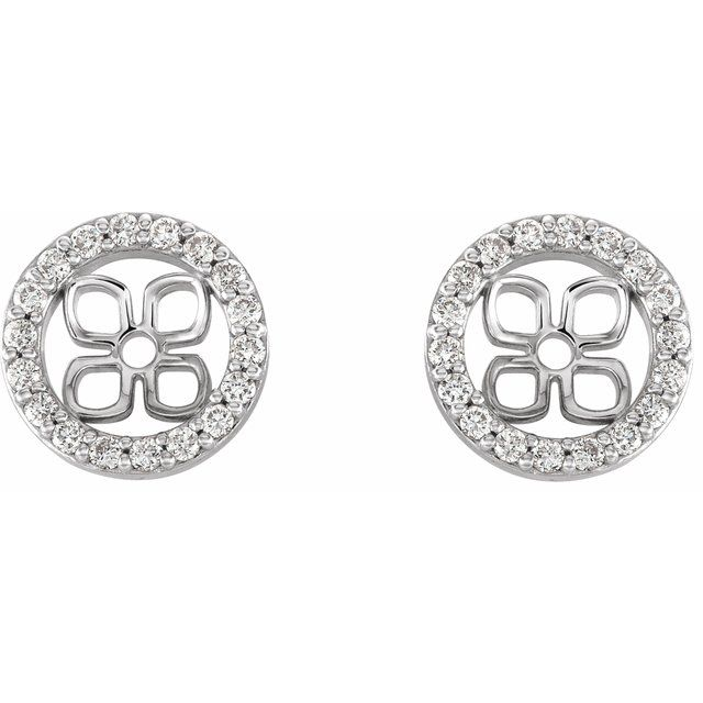 Earrings - Halo-Style Earring Jackets - image #2