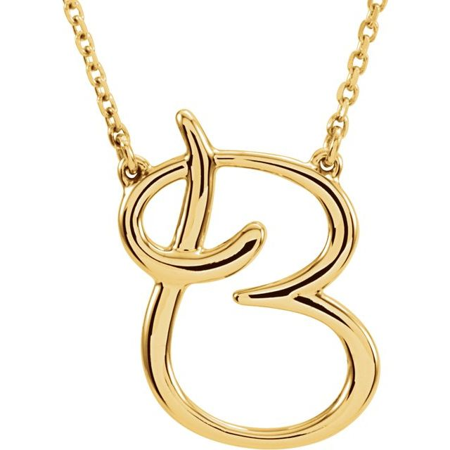 14K Yellow Gold Necklace by Stuller