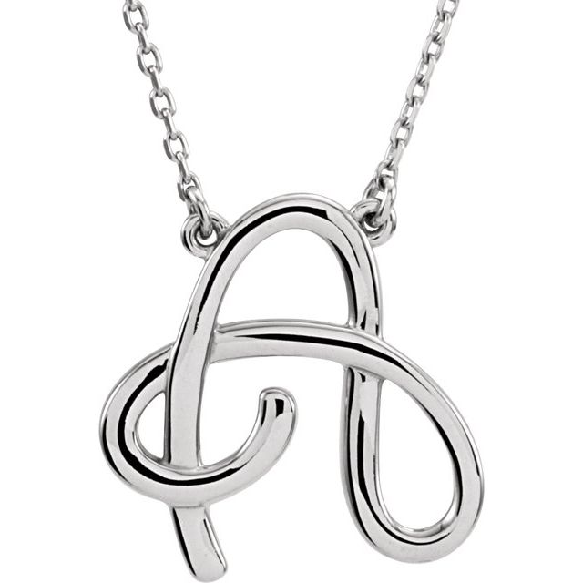 14K White Gold Necklace by Stuller