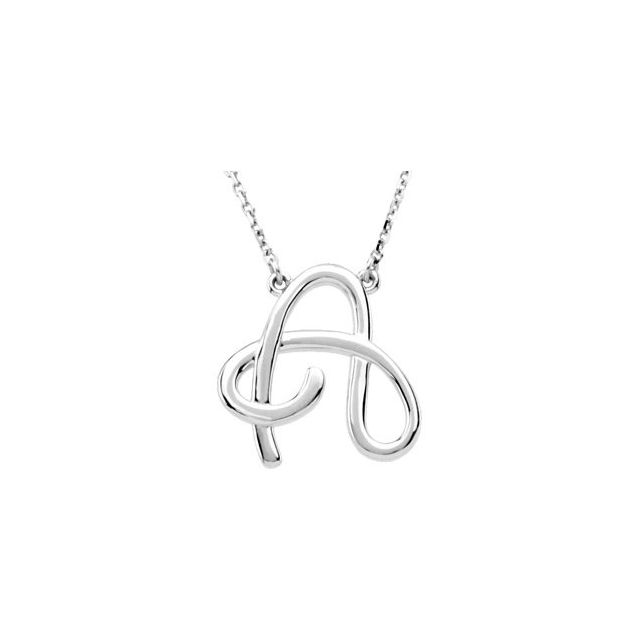 Sterling Silver Necklace by Stuller