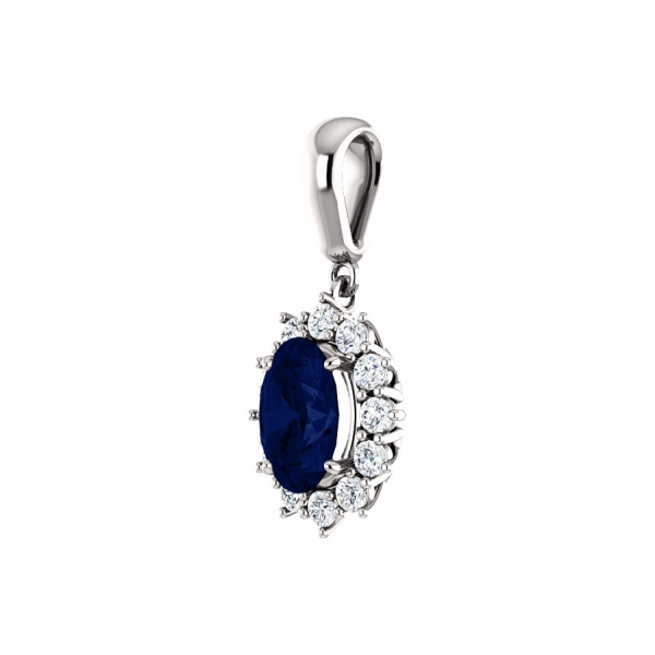 sapphire pendants saphire products p from image jewelers pendant s hogan