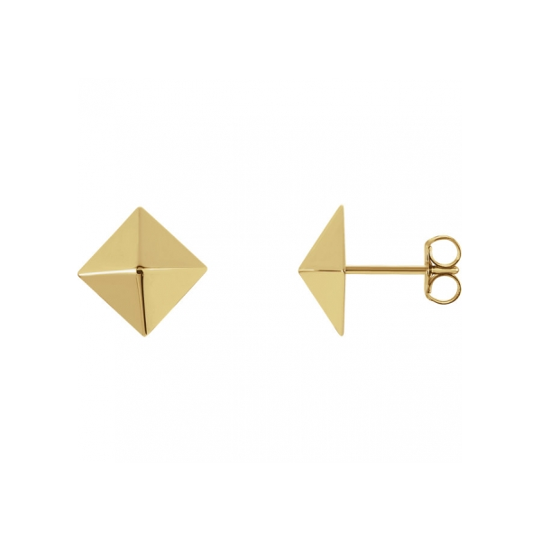 Earrings - 18K Yellow Gold Earrings