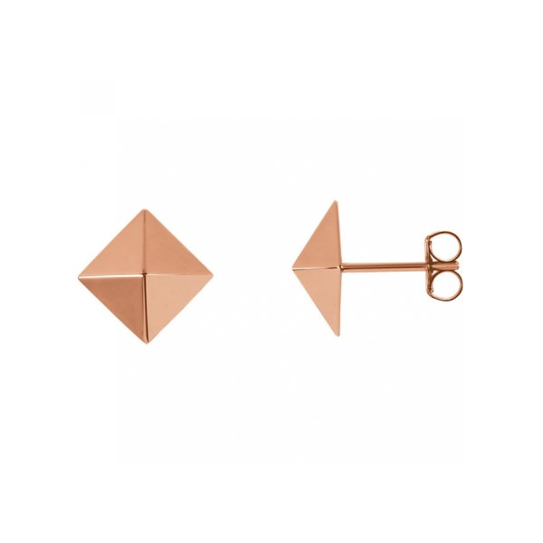 Earrings - 18K Rose Gold Earrings
