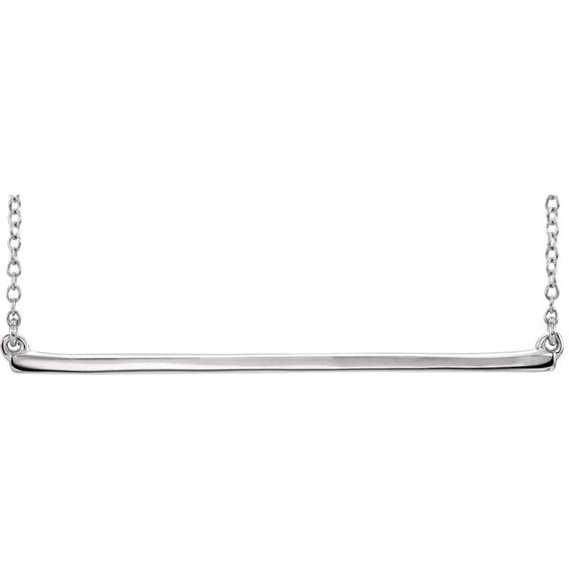 Diamond Necklaces - Bar Necklace