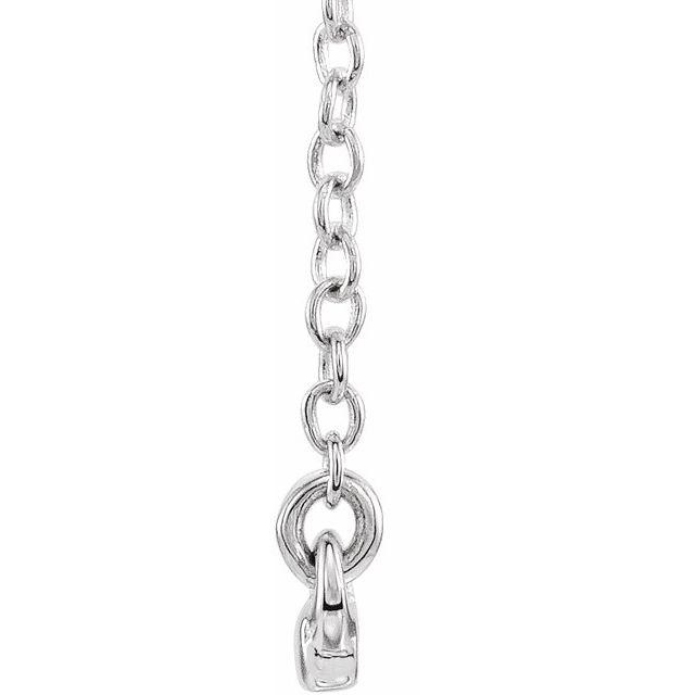 Diamond Necklaces - Bar Necklace - image 2