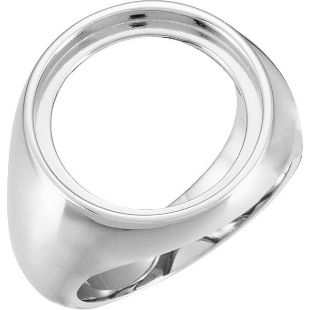 18 mm Coin Frame Ring by Stuller