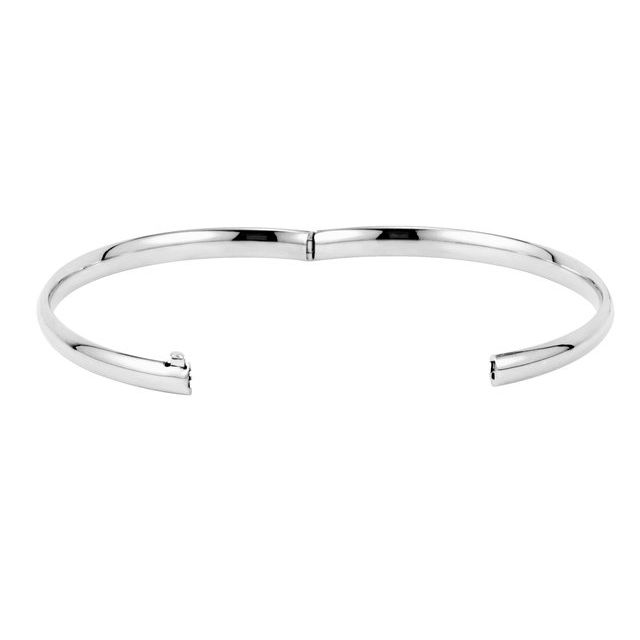 Bracelets - Hinged Bangle Bracelet 4.75 mm - image #2