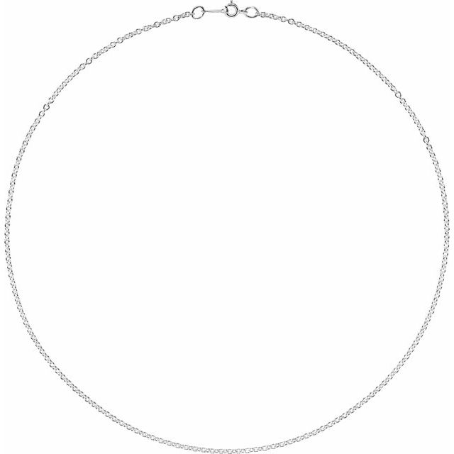 Necklaces - 2.1mm Cable Chain    - image #2