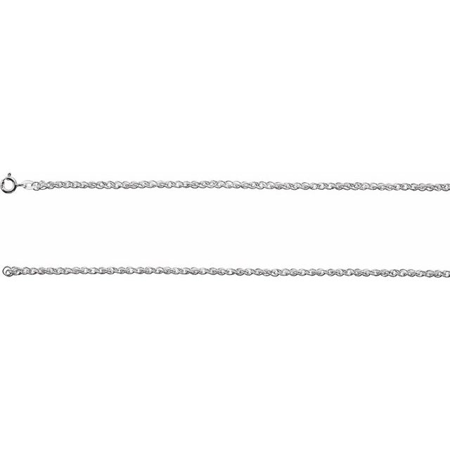 Necklaces - 2mm Rope Chain