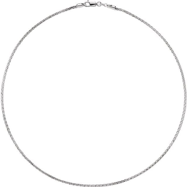 Necklaces - 1.75mm Wheat Diamond Cut Chain  - image #2