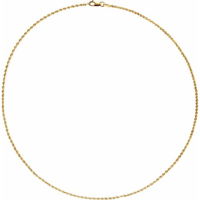 Necklaces - 14K Yellow Gold Chain Necklace - image #2
