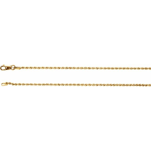 Necklaces - 1.5 mm Rope Chain