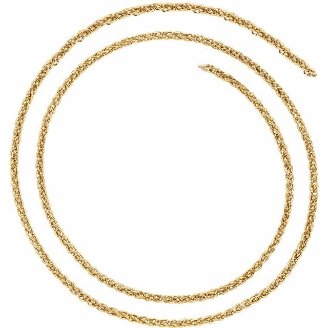 Necklaces - 2.4 mm Wheat Chain
