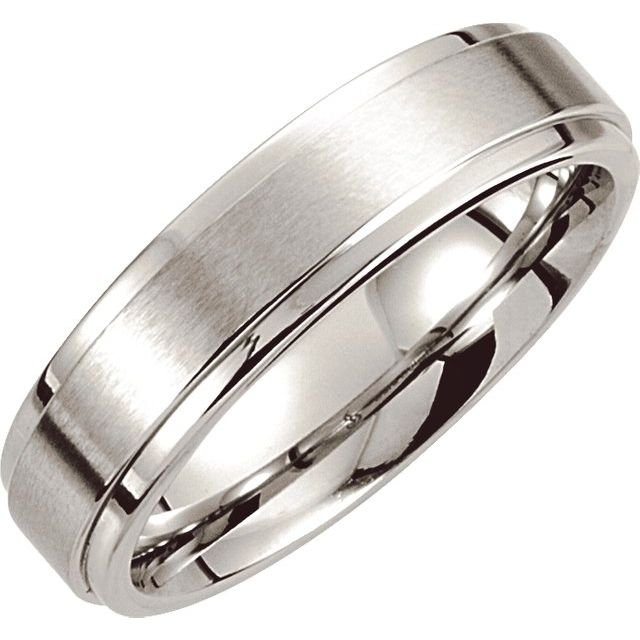 Wedding Bands - Cobalt Band