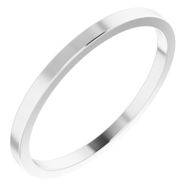 Wedding & Anniversary Bands - 1.5mm Wedding Band