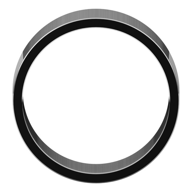 Bands for Her - 8mm Wedding Band - image #2