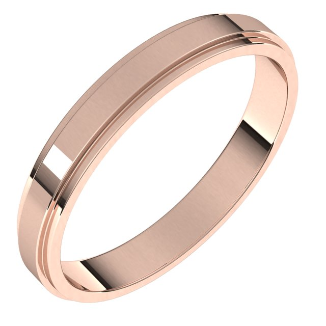 Wedding / Anniversary Bands - 3mm Wedding Band