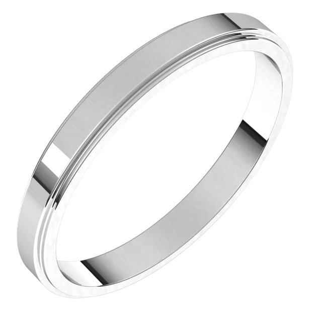 2.5mm Wedding Band by Stuller