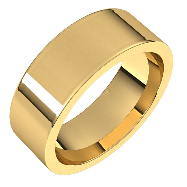 Wedding Bands - 7mm Wedding Band