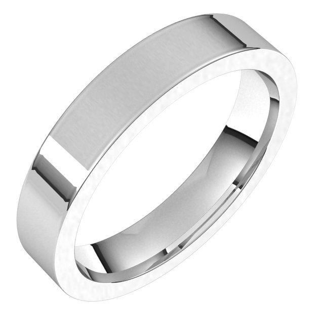 Wedding / Anniversary Bands - 4mm Wedding Band
