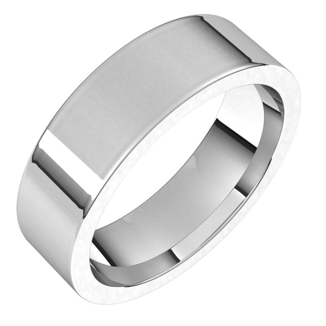 Bands for Her - 6mm Wedding Band