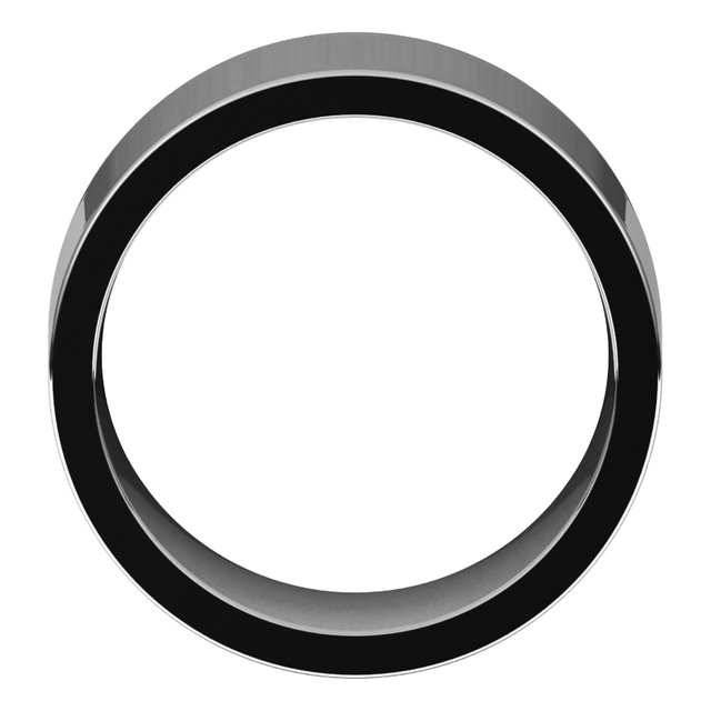 Bands for Her - 10mm Wedding Band - image #2