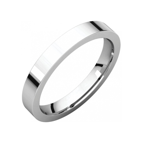 Wedding Bands - 4mm Wedding Band - image #2