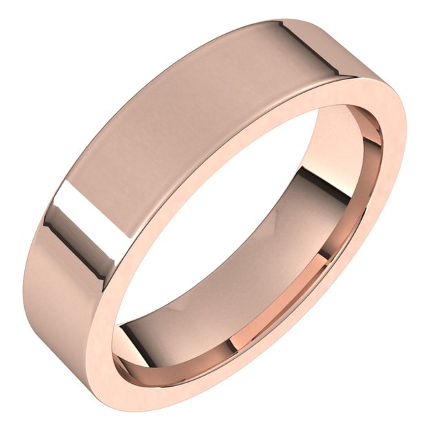 Wedding / Anniversary Bands - 5mm Wedding Band