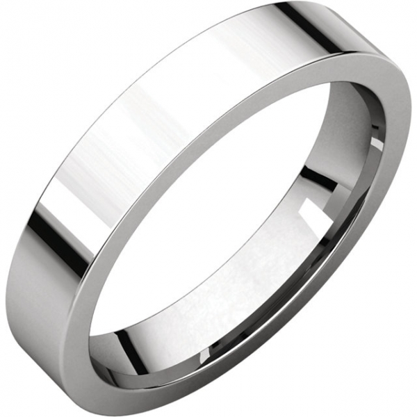Anniversary Bands - Flat Comfort-Fit Bands