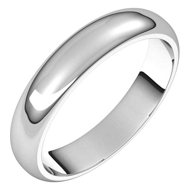 Men's Wedding Bands - 4mm Wedding Band