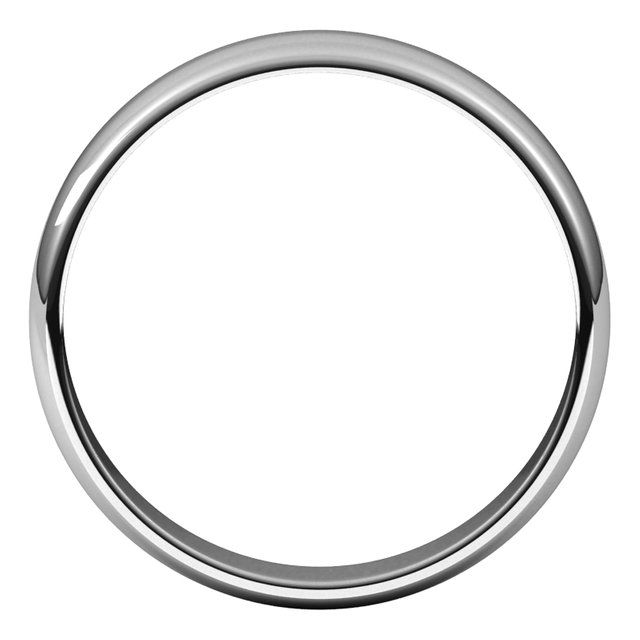Wedding Bands - Half Round Light Bands - image 2