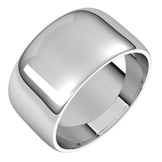 Mens Wedding Bands - 10mm Wedding Band
