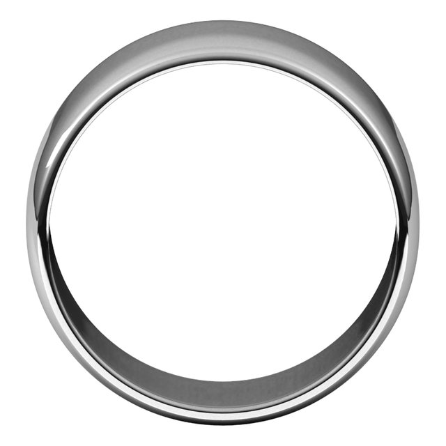 Mens Wedding Bands - 10mm Wedding Band - image #2