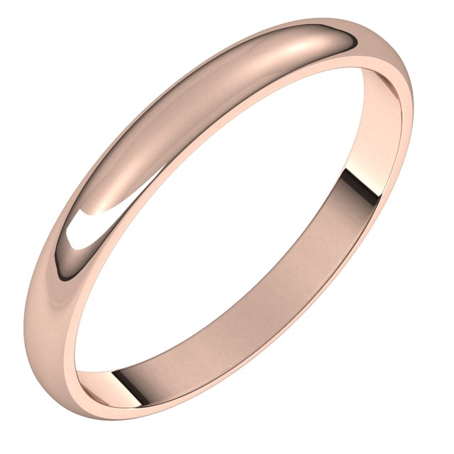 Wedding / Anniversary Bands - 2.5mm Wedding Band