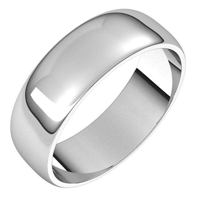 Wedding & Anniversary Bands - 6mm Wedding Band - image 2